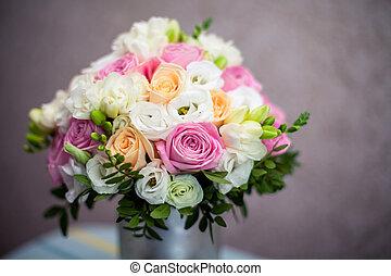 花束, bridal, 結婚式