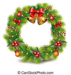 花輪, クリスマス
