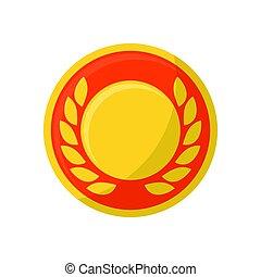 花輪, メダル