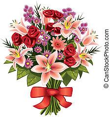 花 の 花束