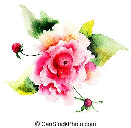 花, ばら, 美しい