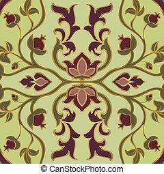 花, イラン人, pattern.