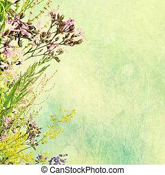 花, イースター, 背景