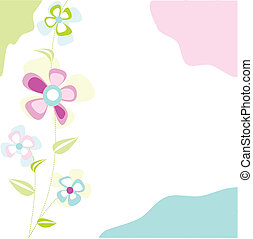 花, カード