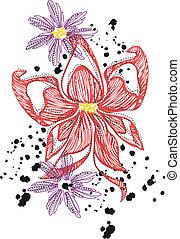花, デザイン
