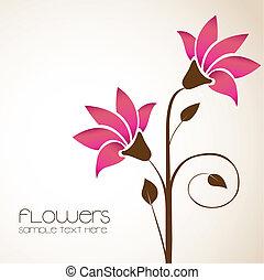 花, デリケートである