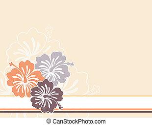 花, ハワイ
