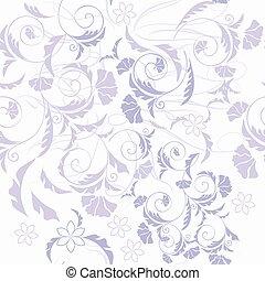 花, パターン, 壁紙,  seamless