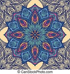 花, パターン, 装飾,  seamless