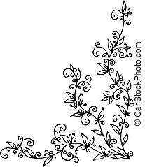花, ビネット