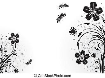 花, フレーム