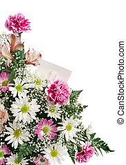 花, ボーダー, ギフトカード