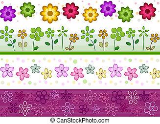 花, ボーダー
