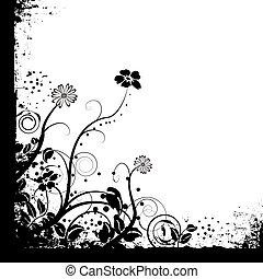 花, モノラル, ただ