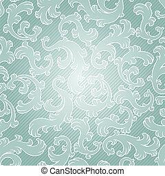 花, 型, pattern., seamless