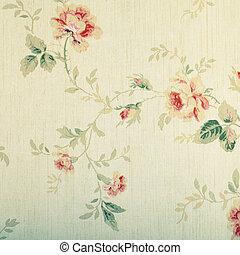 花, 型, victorian, 壁紙パターン