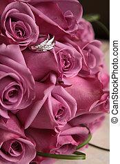 花, 婚禮