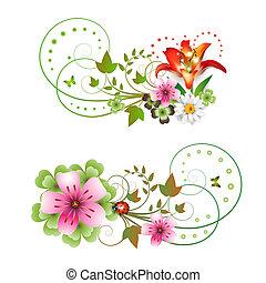 花, 安排