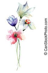 花, 定型