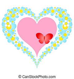 花, 心, バレンタイン