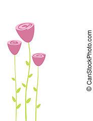 花, 挨拶
