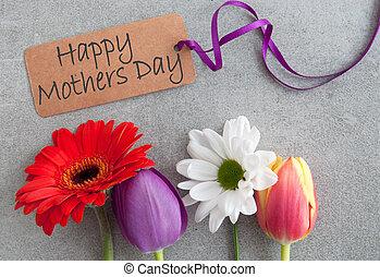 花, 日, 母
