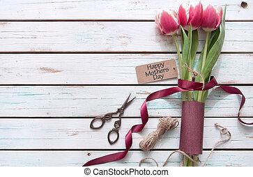 花, 日, 贈り物, 母