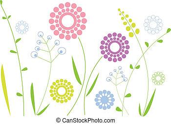 花, 春天