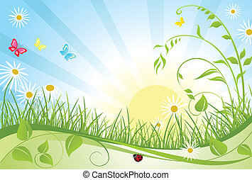 花, 春, カード