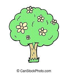 花, 木, 漫画