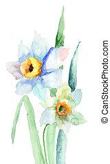花, 水仙