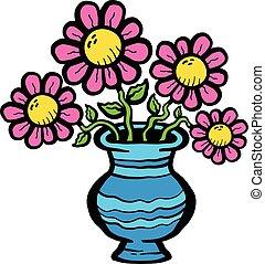 花, 漫画, つぼ