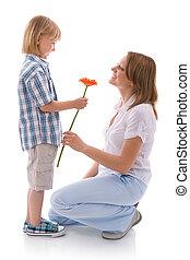 花, 為, 媽媽
