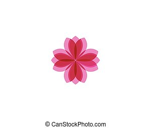 花, 符號, 背景, 植物, 標識語, 白色