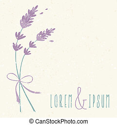 花, 結婚式, デザイン, 招待