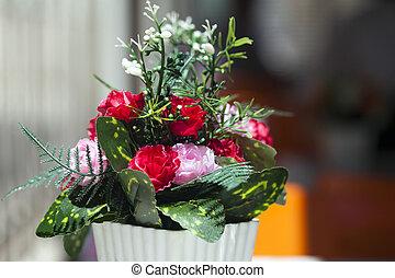 花, 結婚式, ロマンチック, 感情的