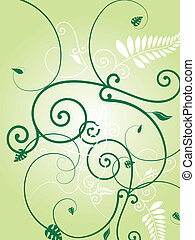 花, 緑, 爆発
