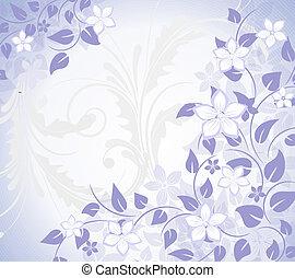 花, 背景