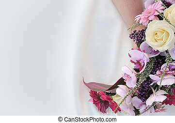 花, 背景, 婚禮