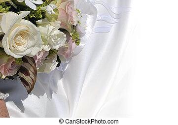 花, 背景, wedding.