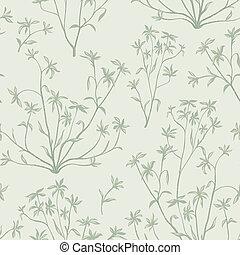 花, 自然, 葉, 壁紙, pattern., seamless, バックグラウンド。, 野生, plants., 活気づきなさい