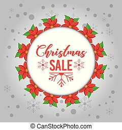 花, 花冠, 雪, 銷售, 裝飾, 聖誕節, 輪
