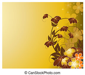 花, 花, 背景