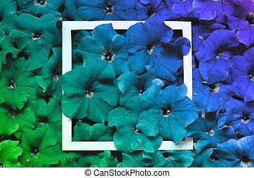花, 芸術, frame., バックグラウンド。, 花, 最小である, design.