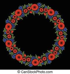 花, 装飾用である, フレーム