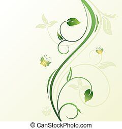 花, 装飾用である, 背景