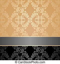 花, 装飾用である, seamless, パターン