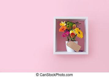 花, 贈り物, ディスプレイ