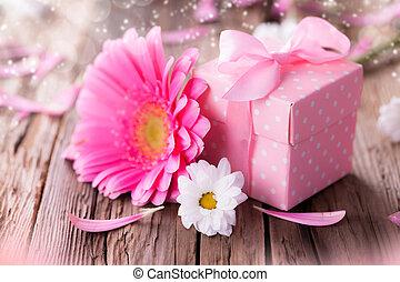 花, 贈り物, gerber