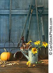 花, 道具, カボチャ